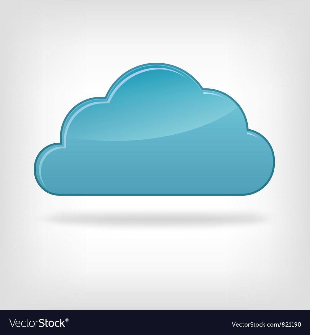 Icon cloud vector | Price: 1 Credit (USD $1)