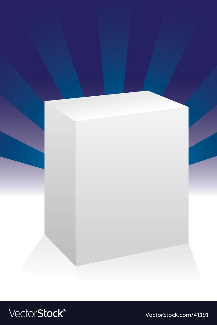 Box design vector | Price: 1 Credit (USD $1)