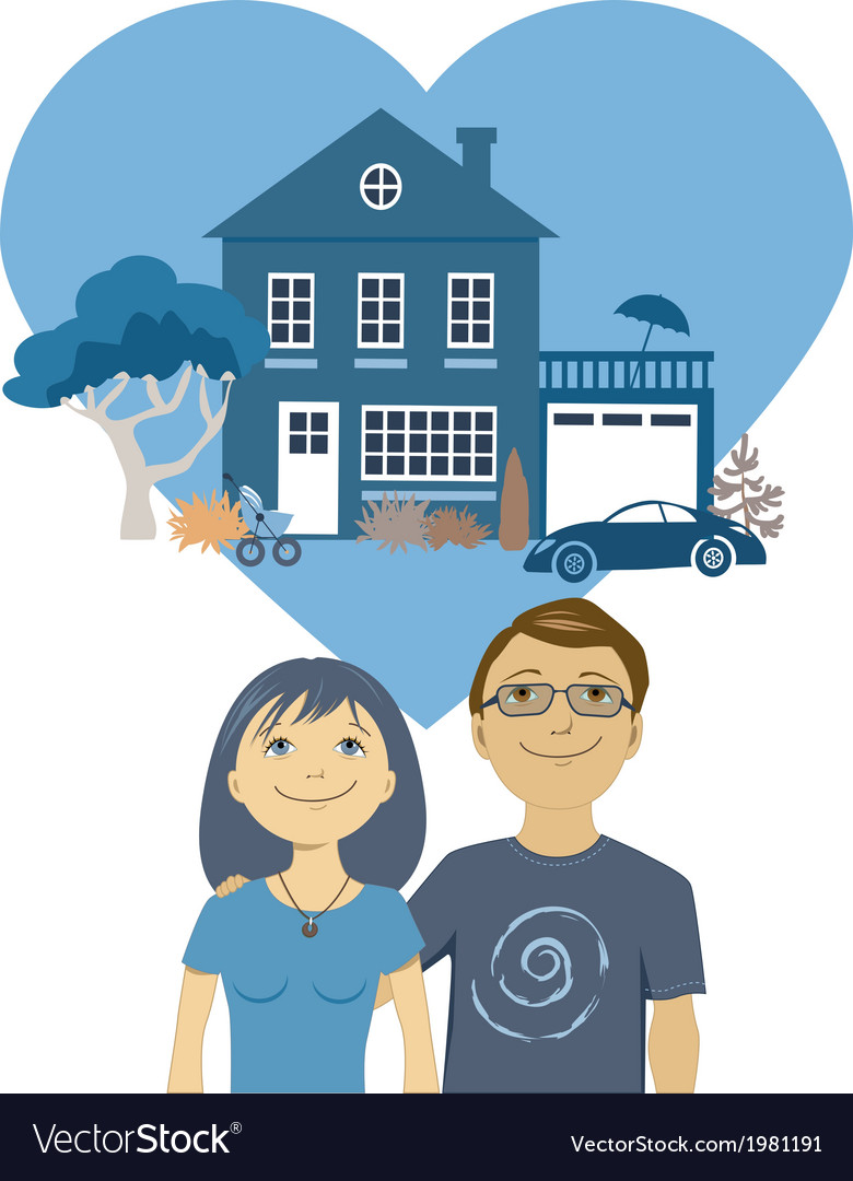 Building a life together vector   Price: 1 Credit (USD $1)
