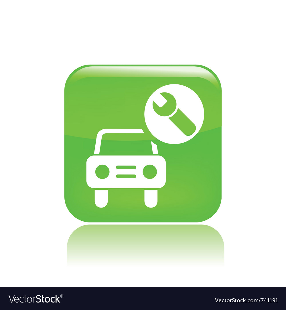 Car assistance icon vector | Price: 1 Credit (USD $1)