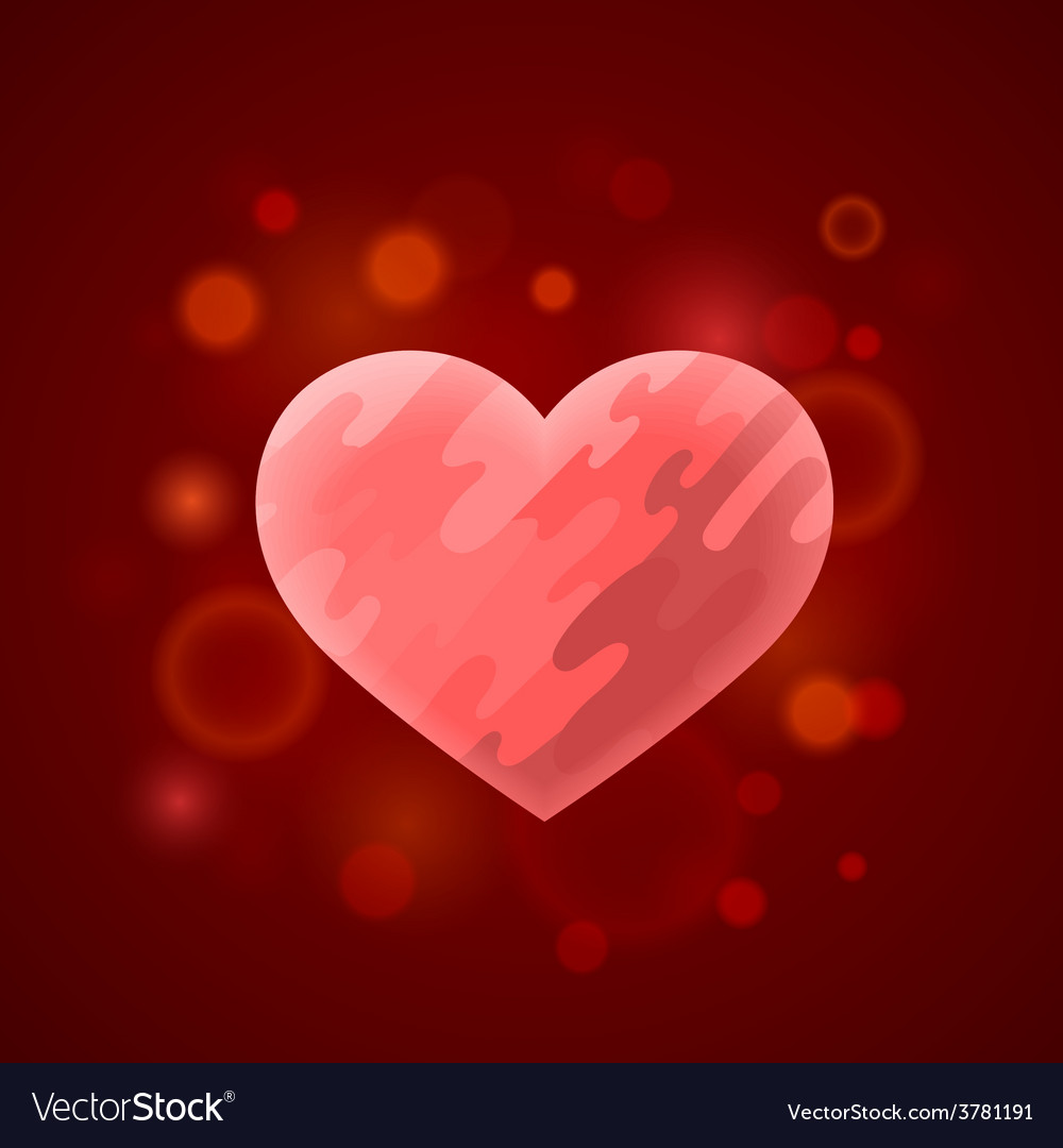 Heart in divorce vector | Price: 1 Credit (USD $1)