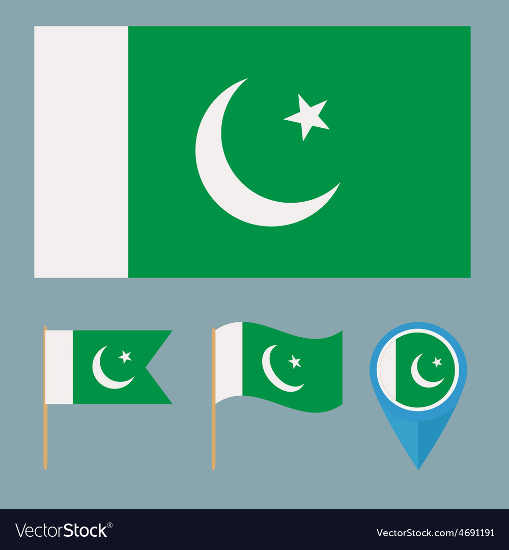 Pakistancountry flag vector   Price: 1 Credit (USD $1)