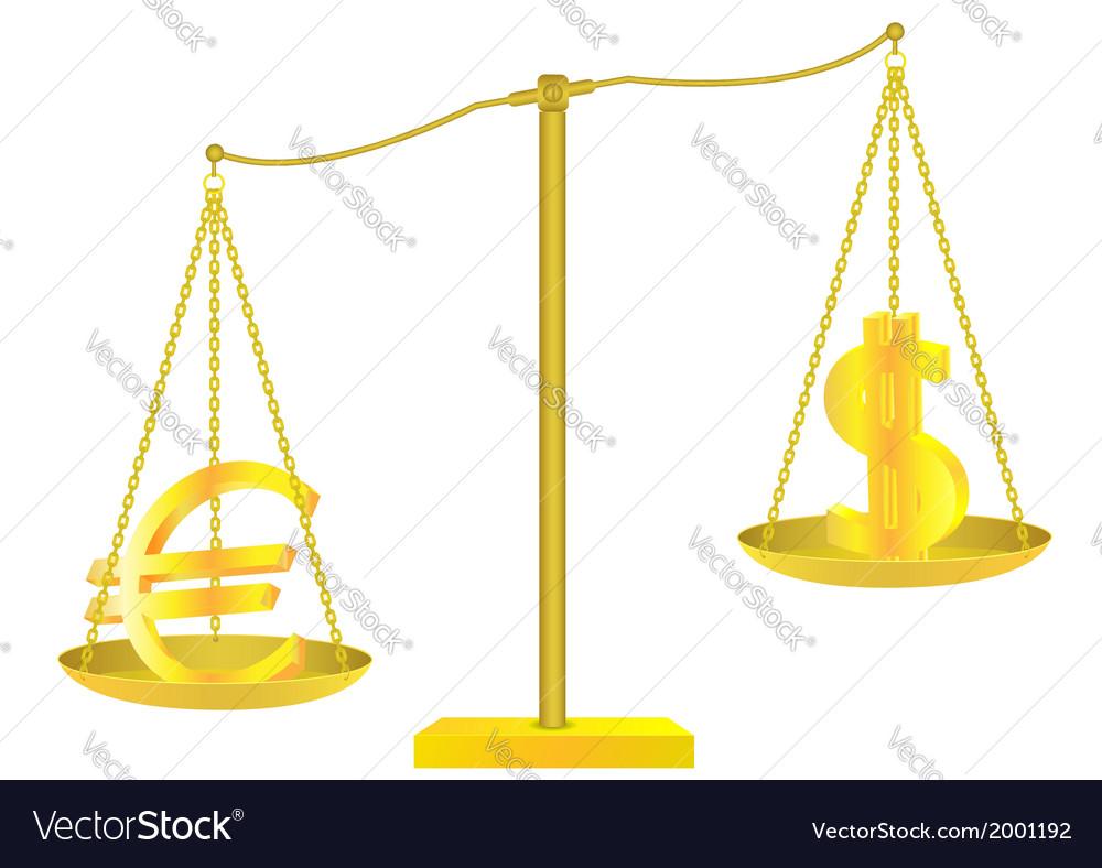 Golden scales vector   Price: 1 Credit (USD $1)