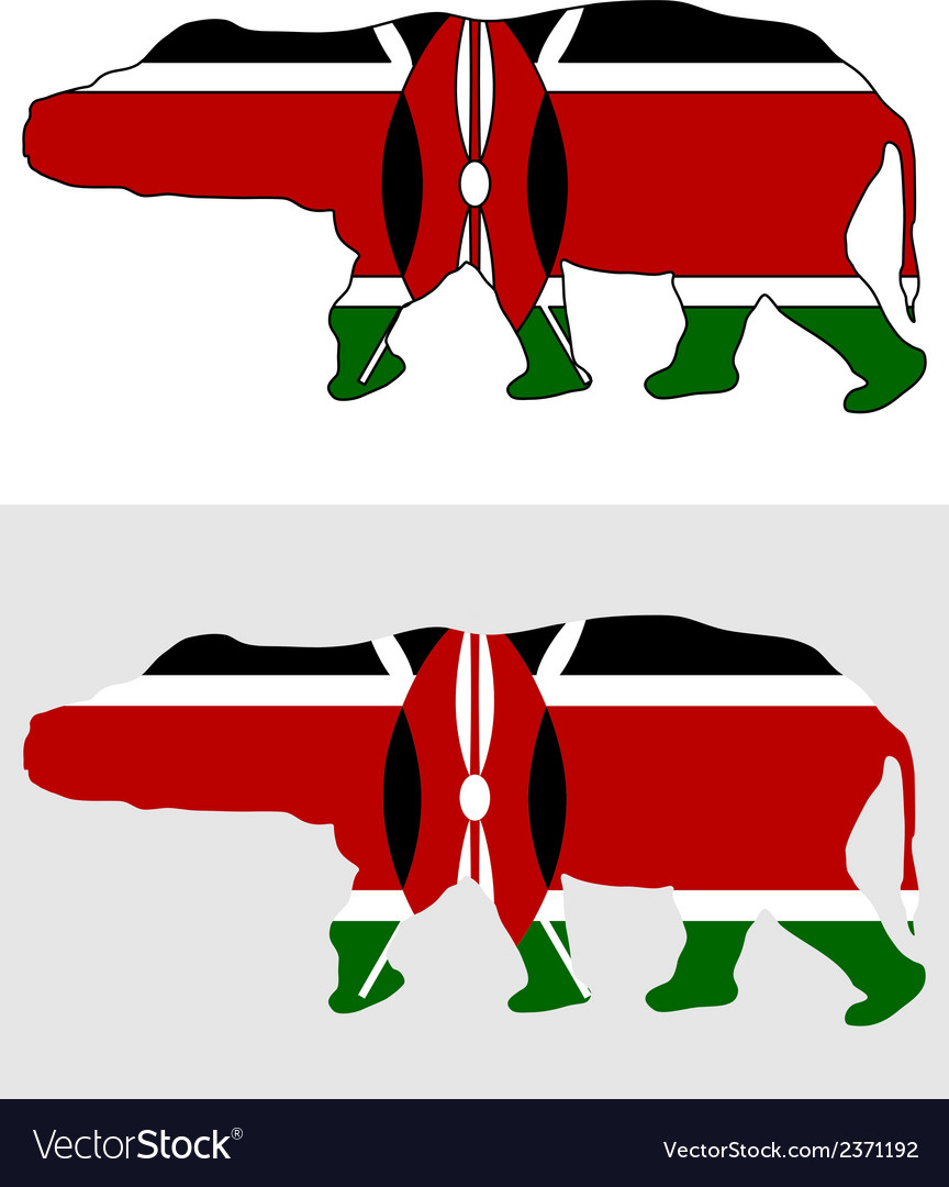 Hippo kenya vector | Price: 1 Credit (USD $1)