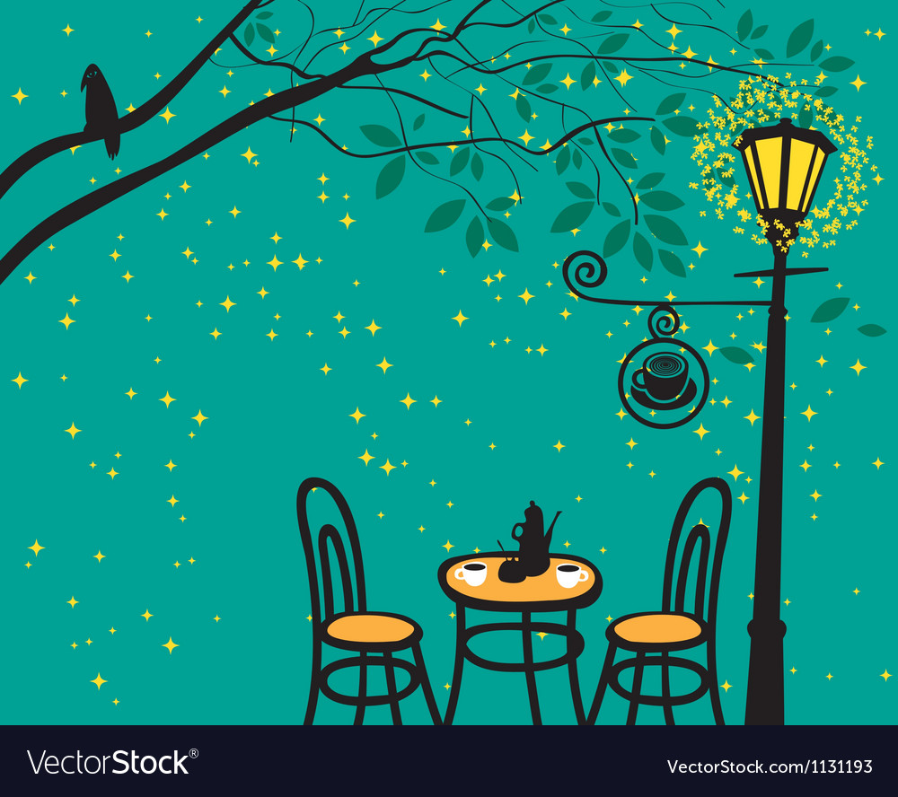Lantern night vector | Price: 1 Credit (USD $1)