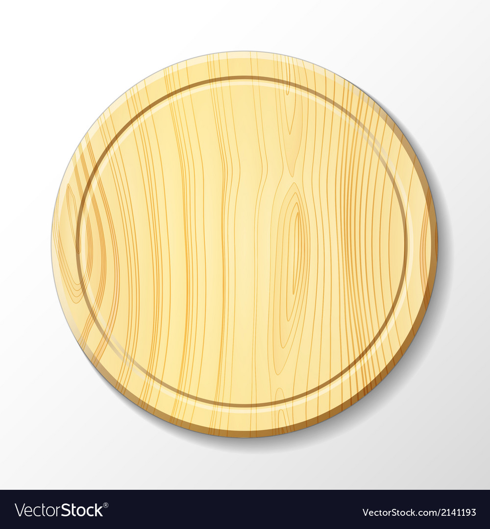 Wooden cutting board vector | Price: 1 Credit (USD $1)