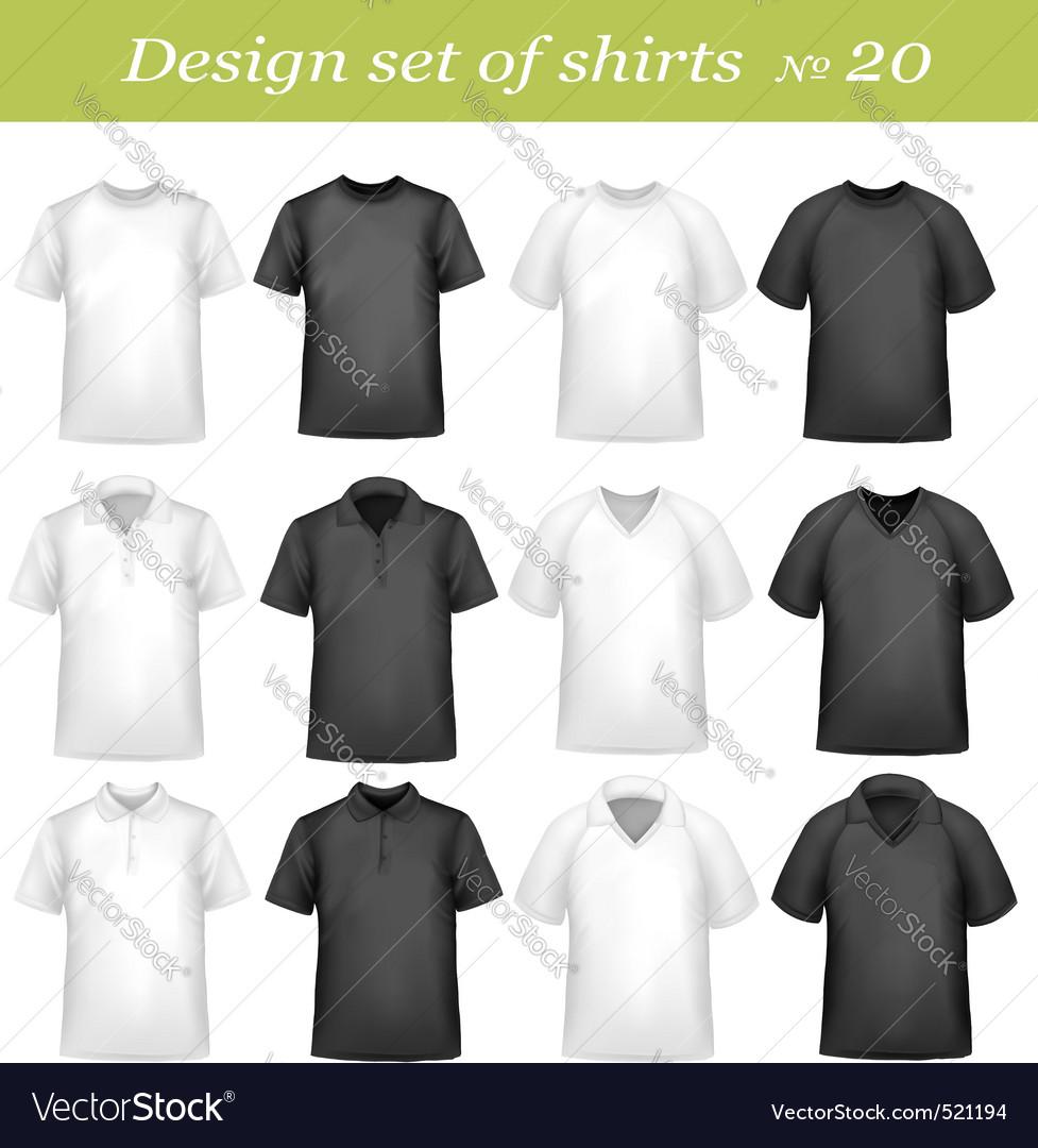 Big design set shirts vector | Price: 3 Credit (USD $3)