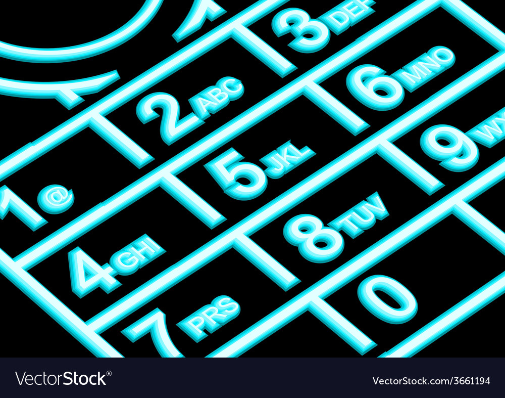 Cell phone night vector | Price: 1 Credit (USD $1)