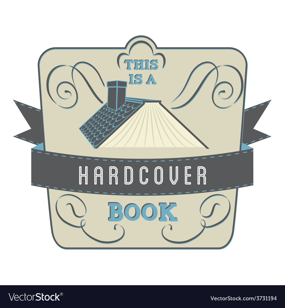 Hardcover book vector | Price: 1 Credit (USD $1)