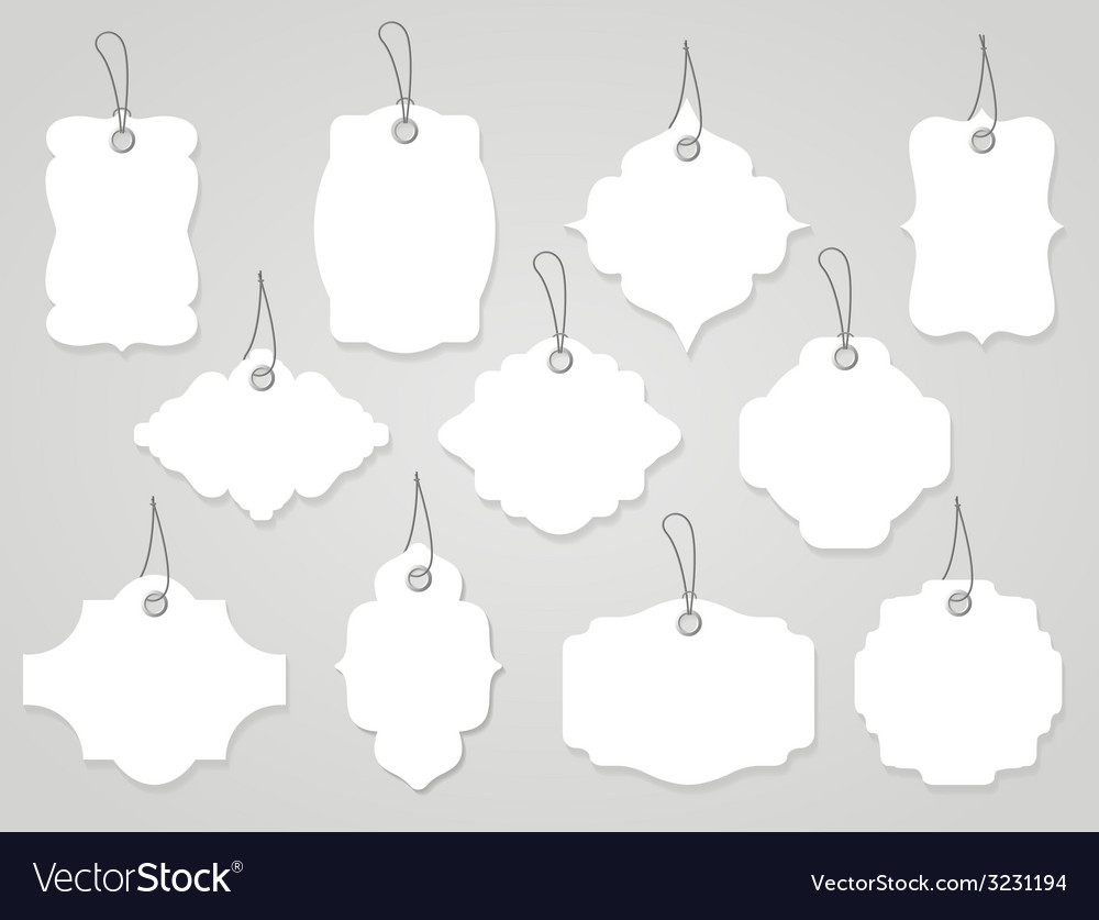 Labels and tags vector | Price: 1 Credit (USD $1)