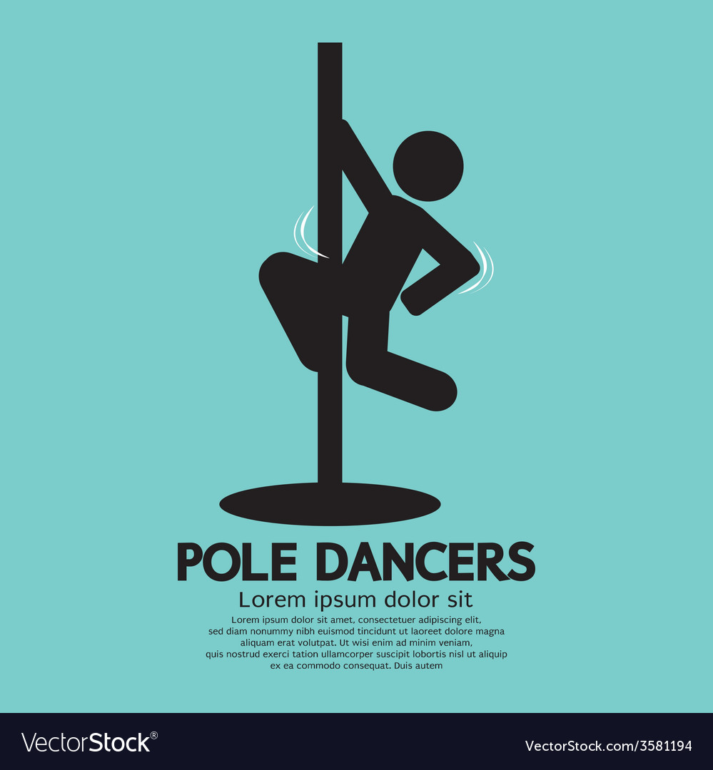 Pole dancers graphic vector | Price: 1 Credit (USD $1)