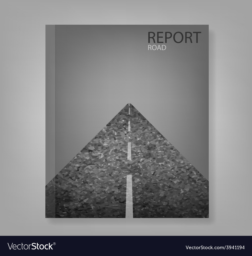 Report road blank vector | Price: 1 Credit (USD $1)
