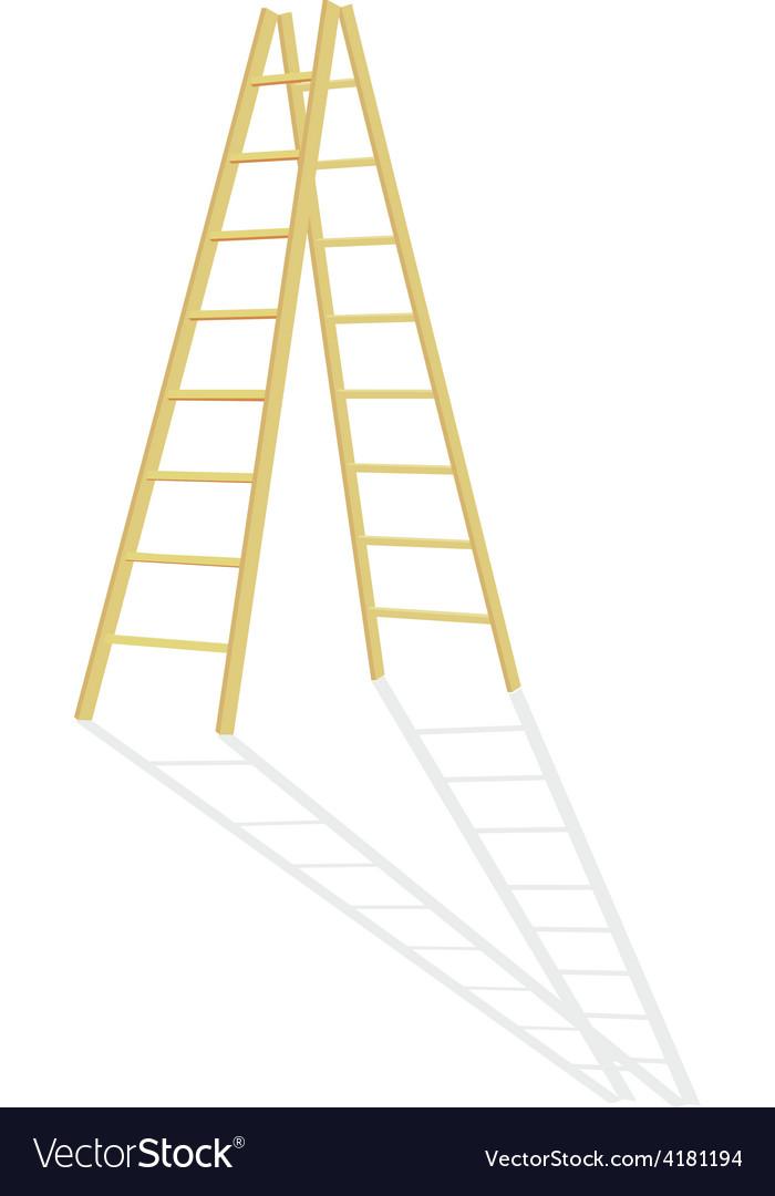 Wood step ladder vector | Price: 1 Credit (USD $1)