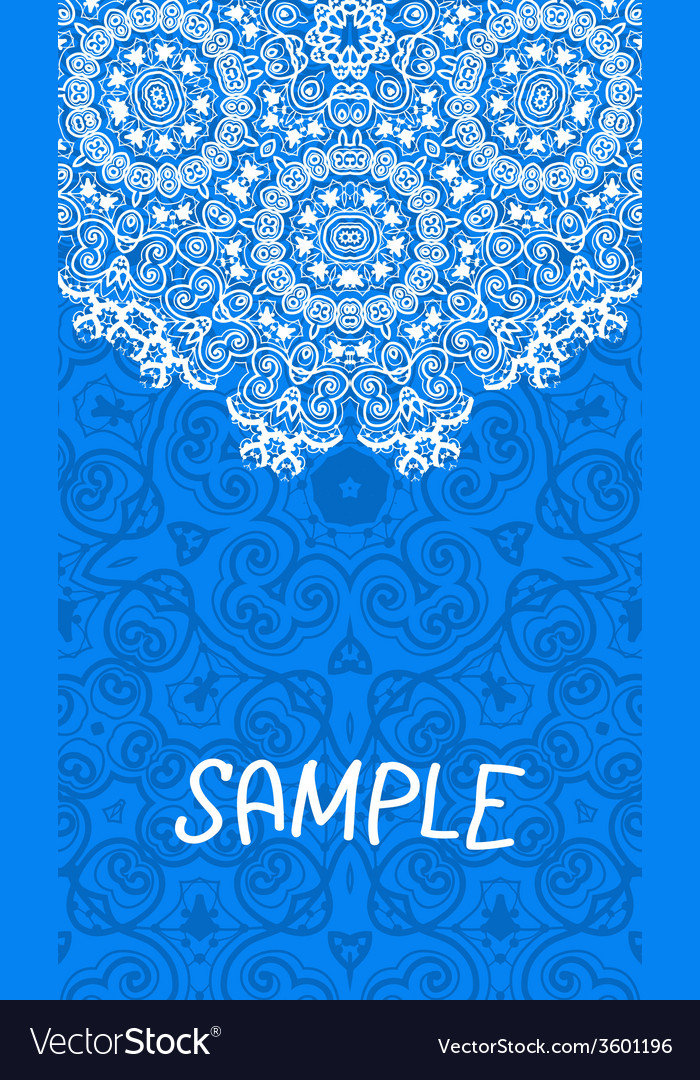 Flyer wedding or invitation card vertical banner vector | Price: 1 Credit (USD $1)