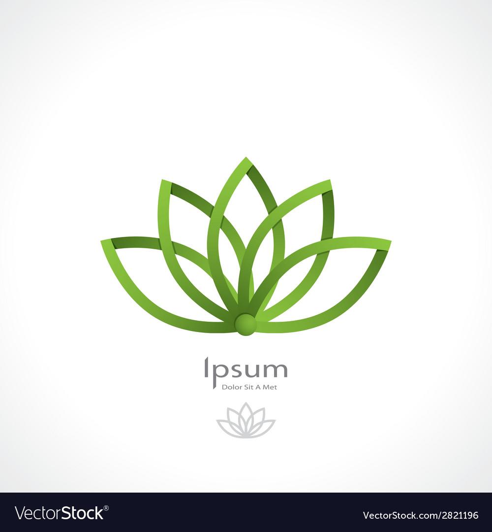 Lotus symbol vector | Price: 1 Credit (USD $1)