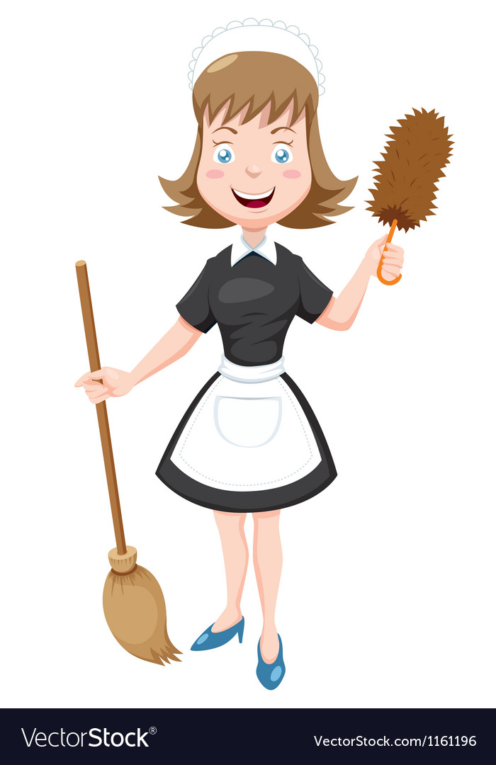 Maid vector | Price: 1 Credit (USD $1)