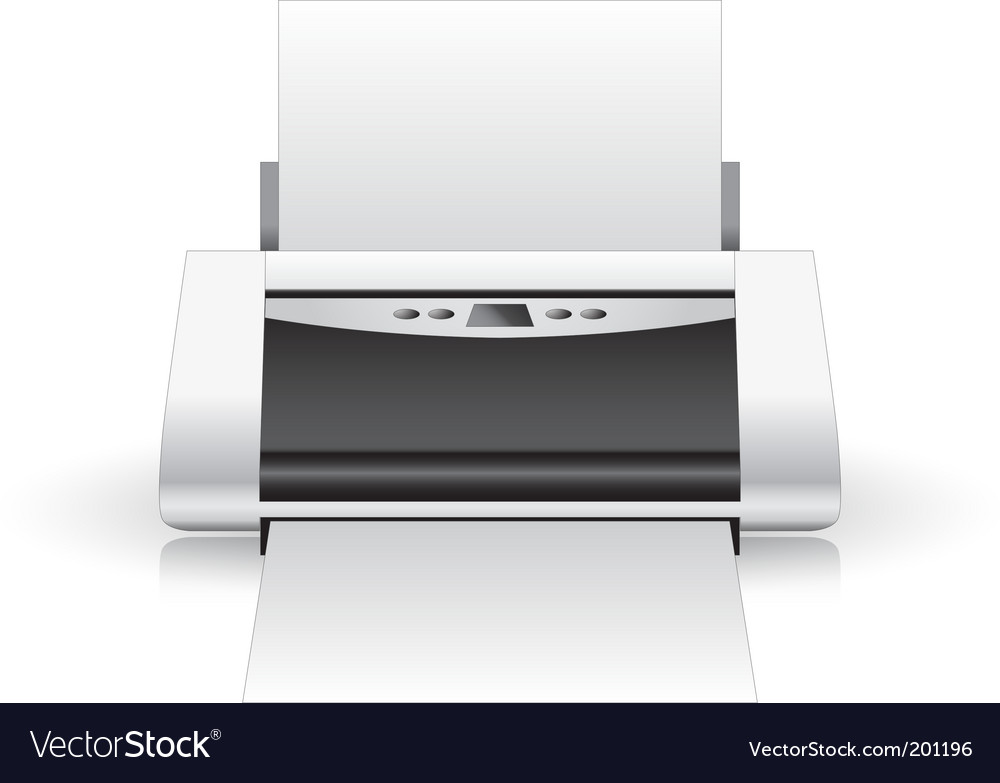 Printer vector | Price: 1 Credit (USD $1)