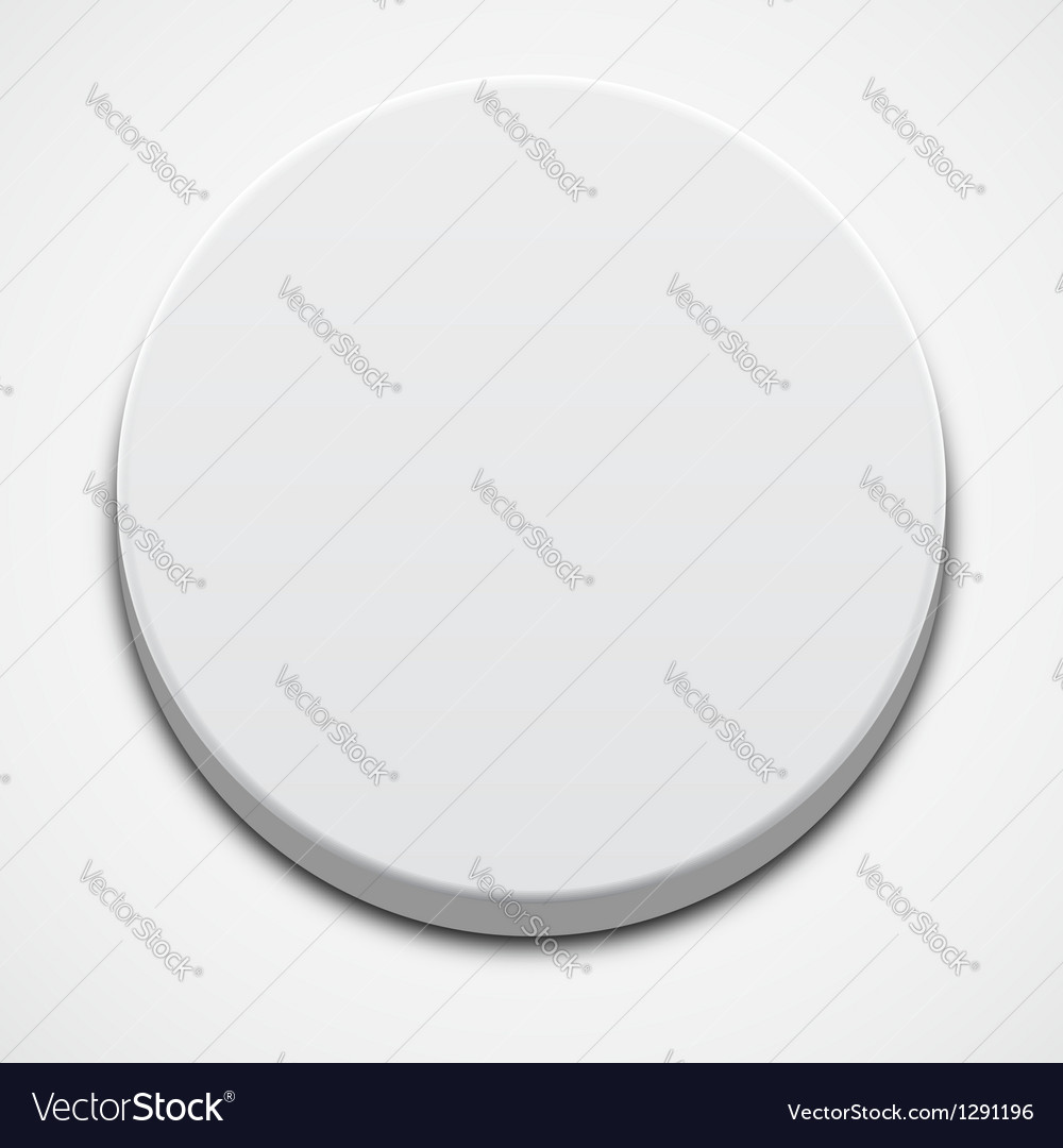 White button vector | Price: 1 Credit (USD $1)