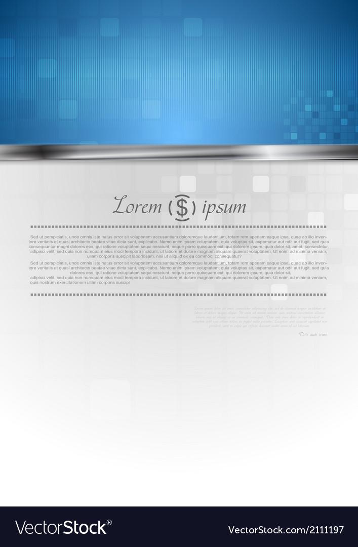 Hi-tech corporate background vector | Price: 1 Credit (USD $1)