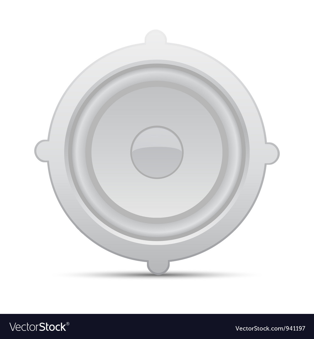 Icon loudspeaker  audio loud speaker vector | Price: 1 Credit (USD $1)