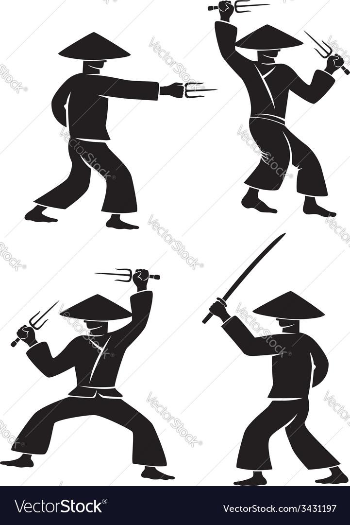 Samurai sword vector | Price: 1 Credit (USD $1)