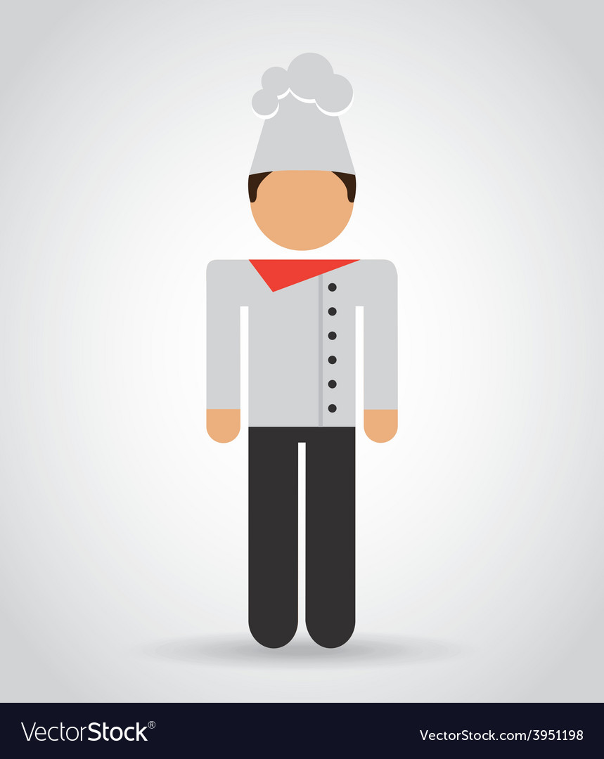 Chef man vector | Price: 1 Credit (USD $1)
