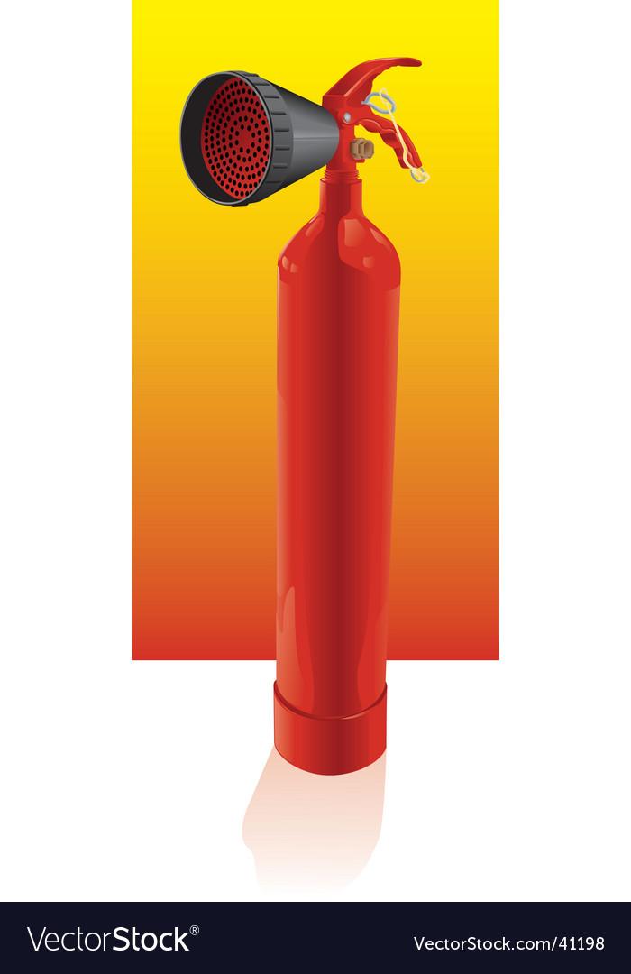Fire-extinguisher vector | Price: 1 Credit (USD $1)