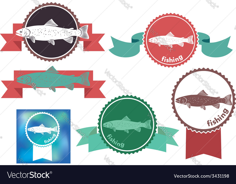 Trout vector | Price: 1 Credit (USD $1)