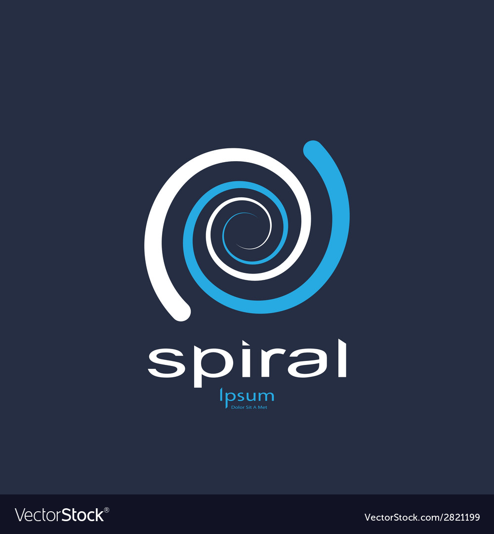 Spiral symbol vector | Price: 1 Credit (USD $1)