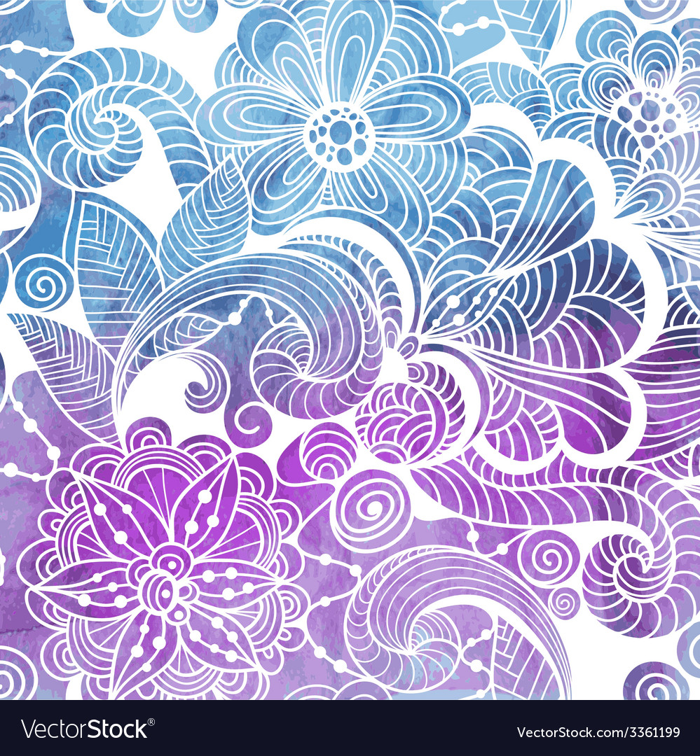 Winter lacy pattern winter lacy pattern vector | Price: 1 Credit (USD $1)