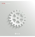 Gear icon - web background vector