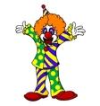 Circus clown vector