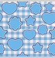 Blue application - seamless pattern vector
