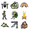 Logo icons campaign vector