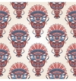 Seamless ornamental pattern vector