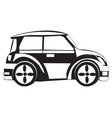 Silhouette of the car vector