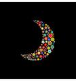 Moon shape vector