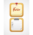 Notepad icons vector