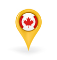 Location canada vector