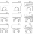 Linear cute home styles1 01 vector