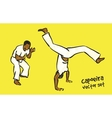 Capoeira set vector