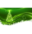 Magic christmas tree vector
