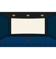 Empty cinema vector