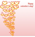 Valentines day colorful vector
