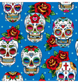 Scull pattern vector