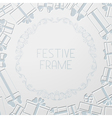 Paper festive background vector
