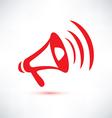 Megaphone loudspeaker isolated symbol vector