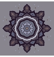 Mandala indian decorative pattern vector
