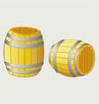 Beer barrels vector