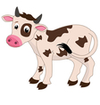 Cows on a white background vector